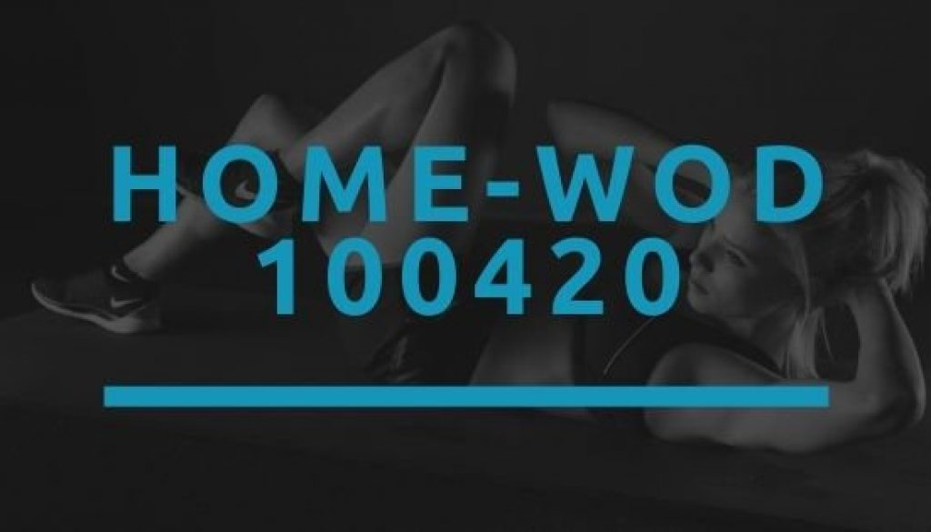 Octofit Home WOD 100420