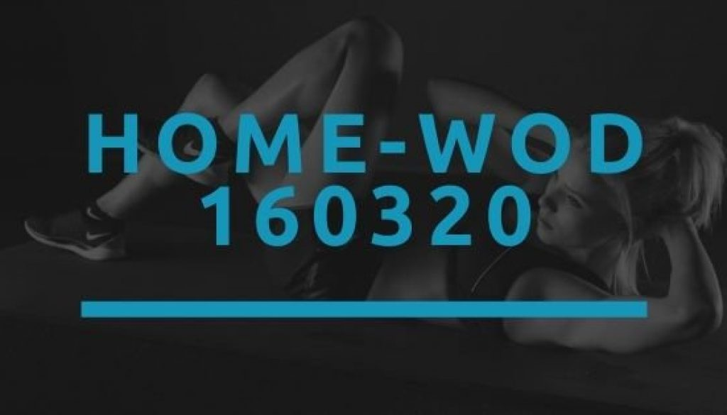 Octofit Home WOD 160320