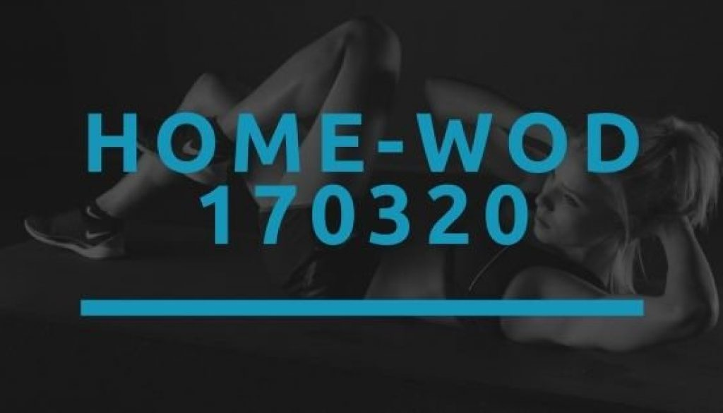 Octofit Home WOD 170320