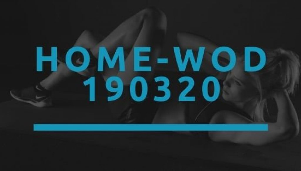 Octofit Home WOD 190320