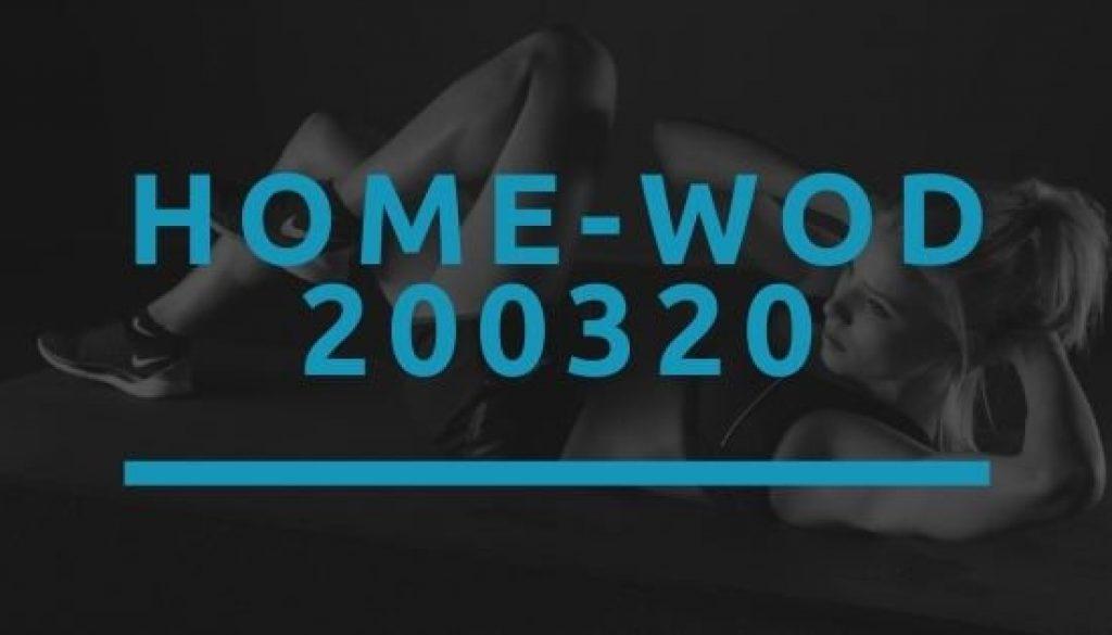 Octofit Home WOD 200320