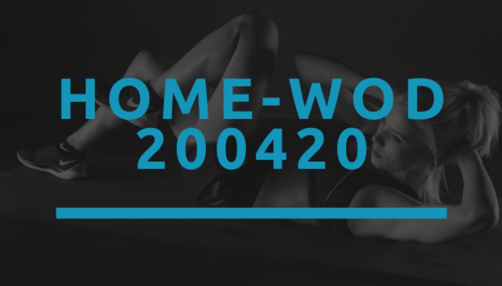 Octofit Home WOD 200420