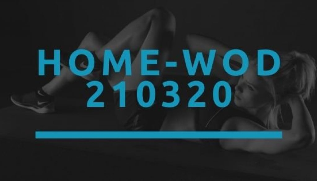 Octofit Home WOD 210320