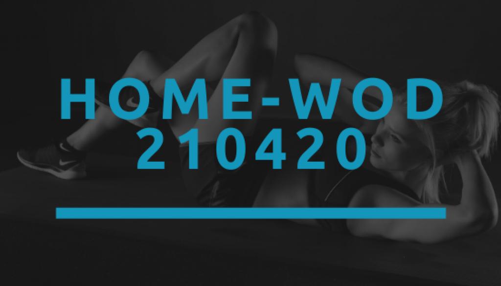 Octofit Home WOD 210420