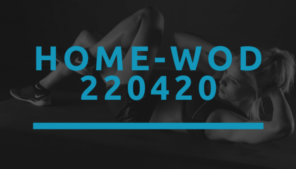 Octofit Home WOD 220420