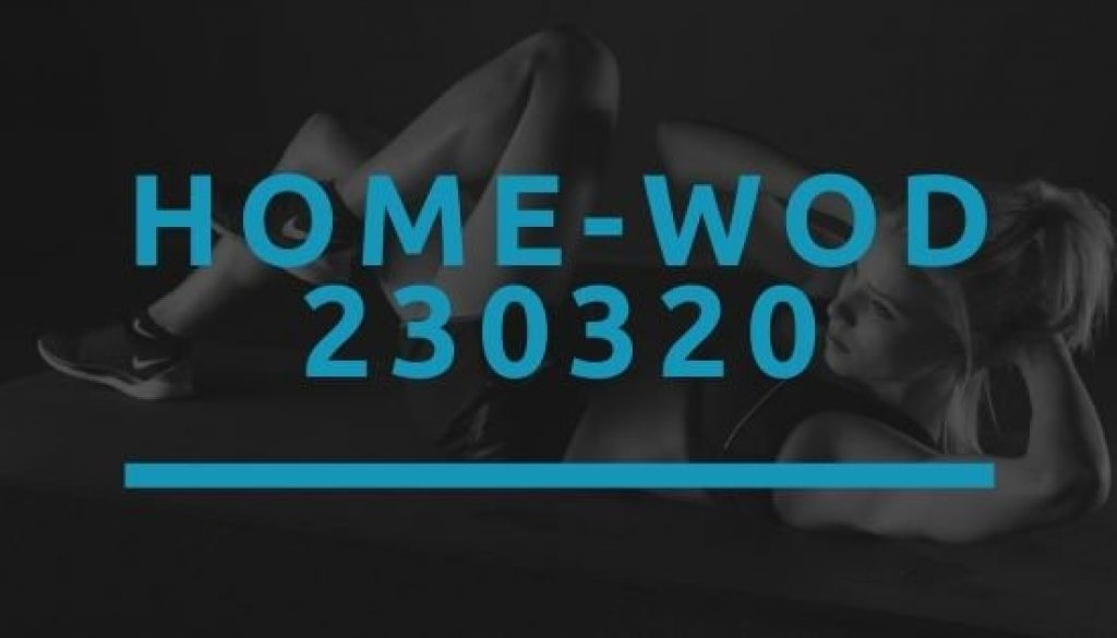 Octofit Home WOD 230320