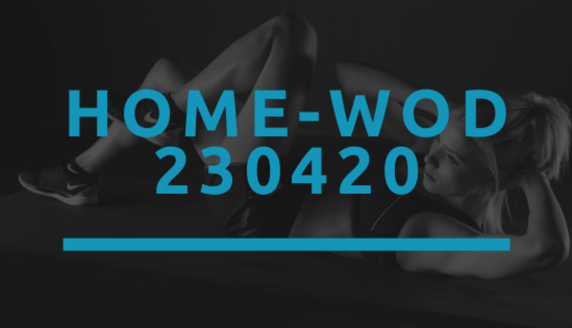 Octofit Home WOD 230420