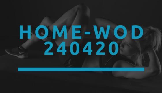 Octofit Home WOD 240420