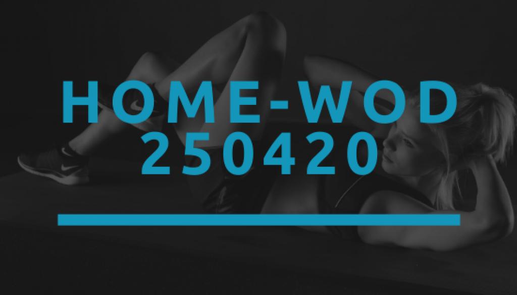 Octofit Home WOD 250420