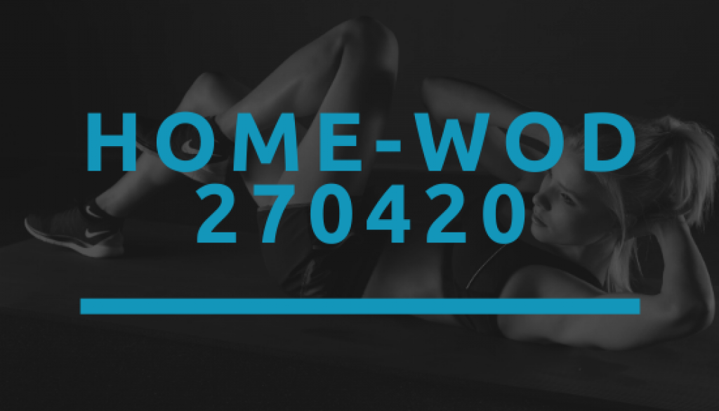 Octofit Home WOD 270420