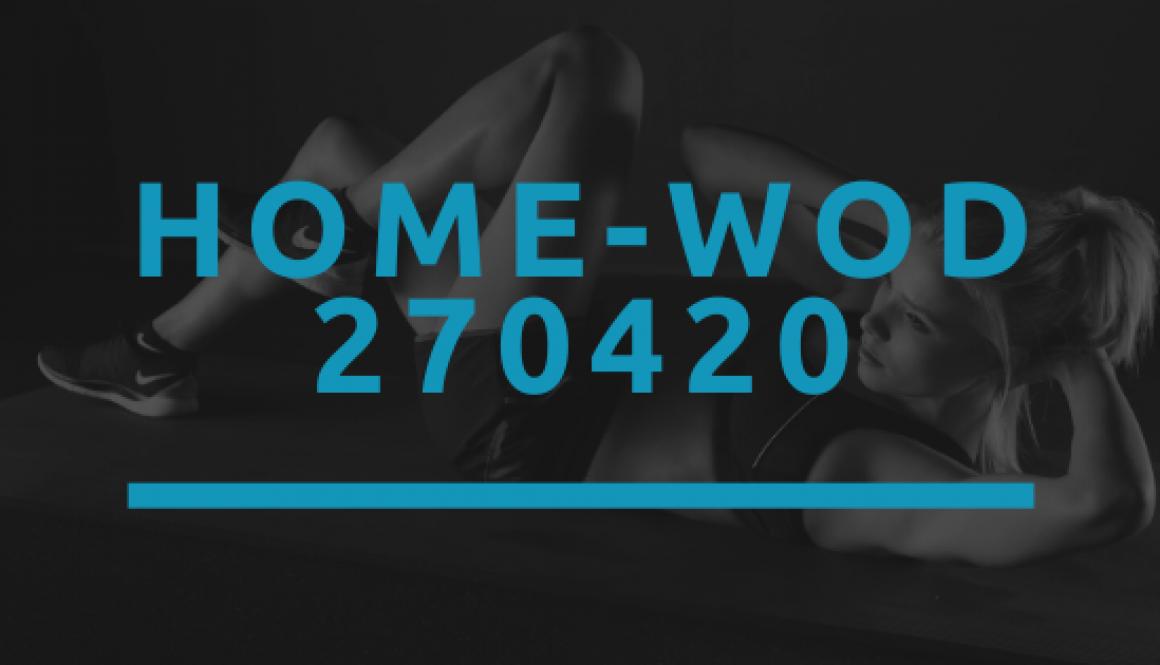 Octofit Home WOD 270420