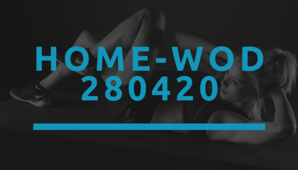 Octofit Home WOD 280420