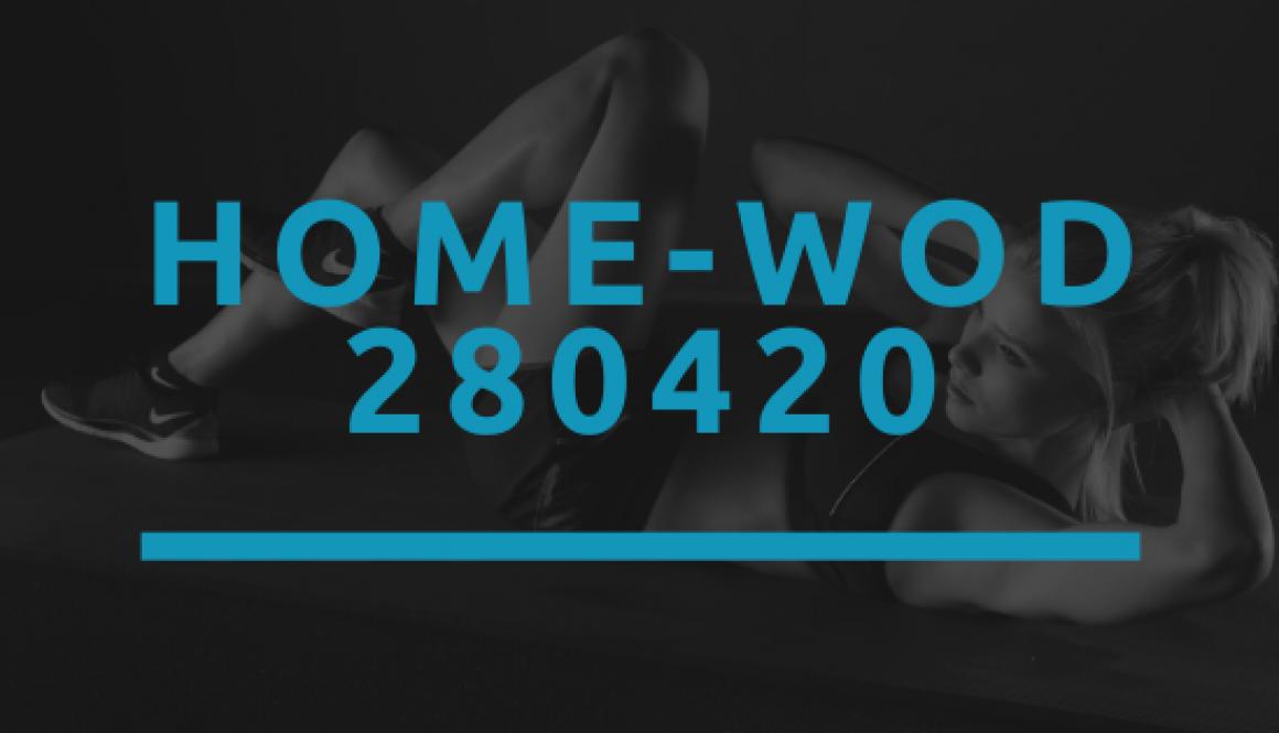 Octofit Home WOD 280420
