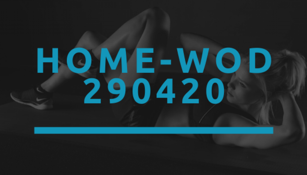 Octofit Home WOD 290420