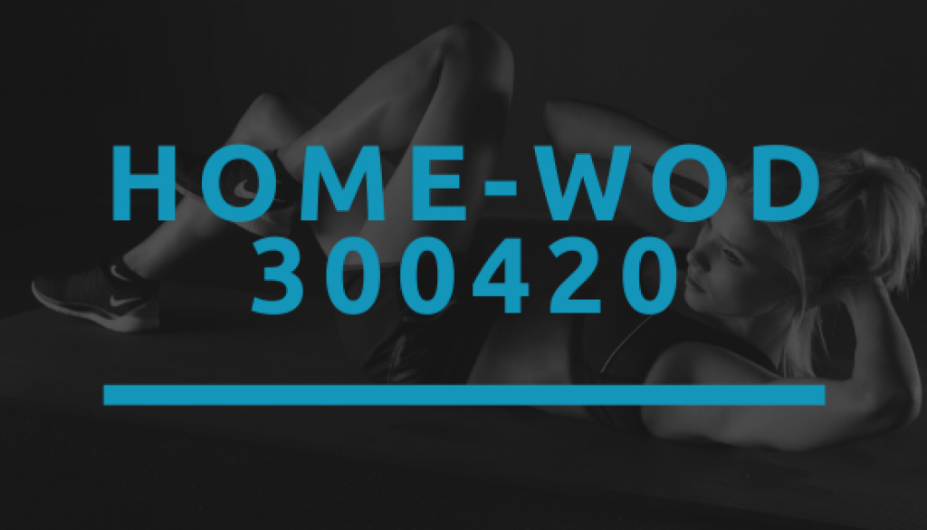 Octofit Home WOD 300420