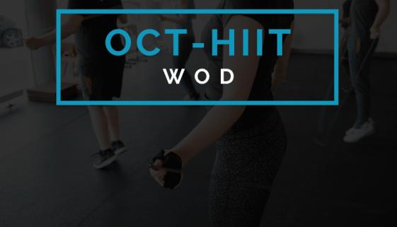 Octofit Intervalltraining Programming High Intensity HIIT Workout WOD