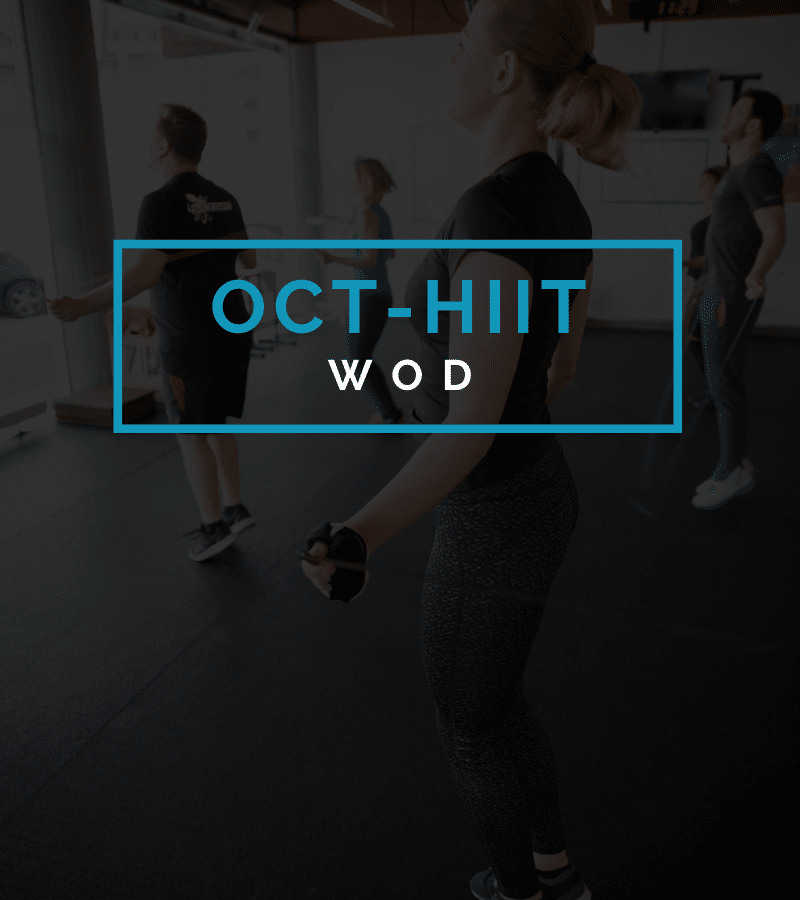 Octofit Intervalltraining Programming High Intensity HIIT Workout WOD
