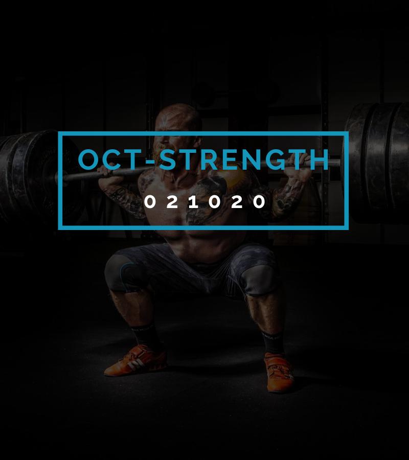 Octofit Kraft Programming OCT-STRENGTH 021020