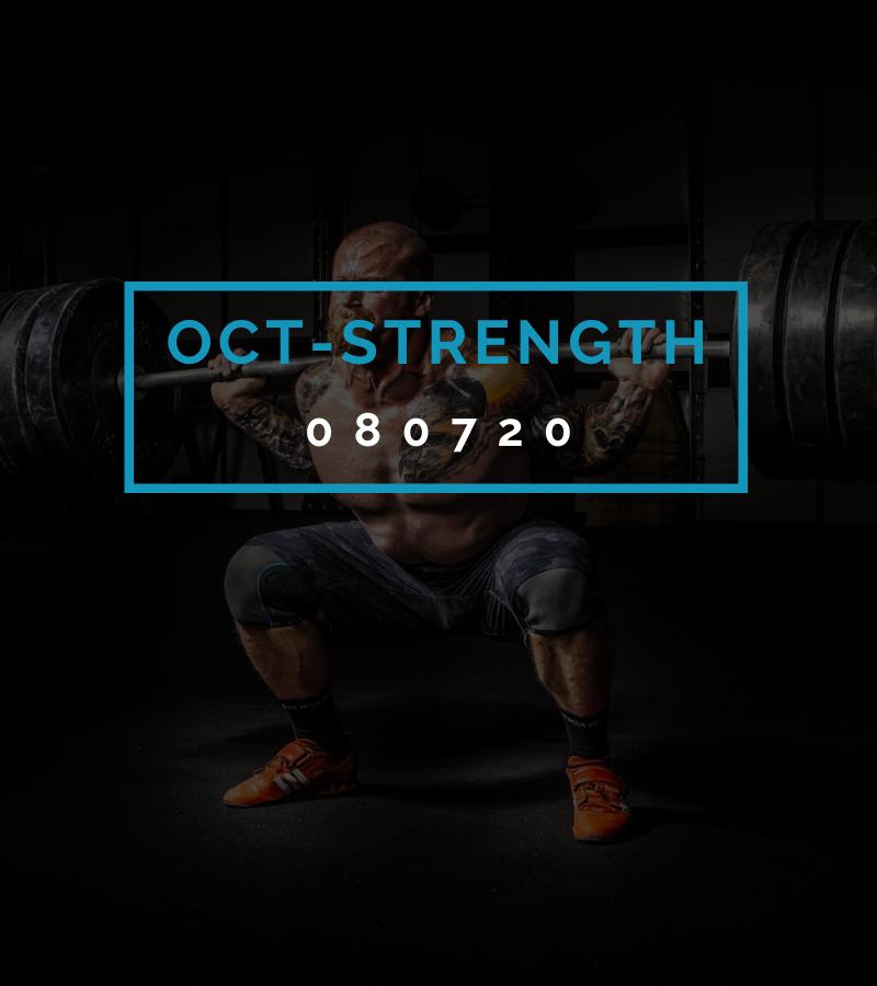Octofit Kraft Programming OCT-STRENGTH 080720