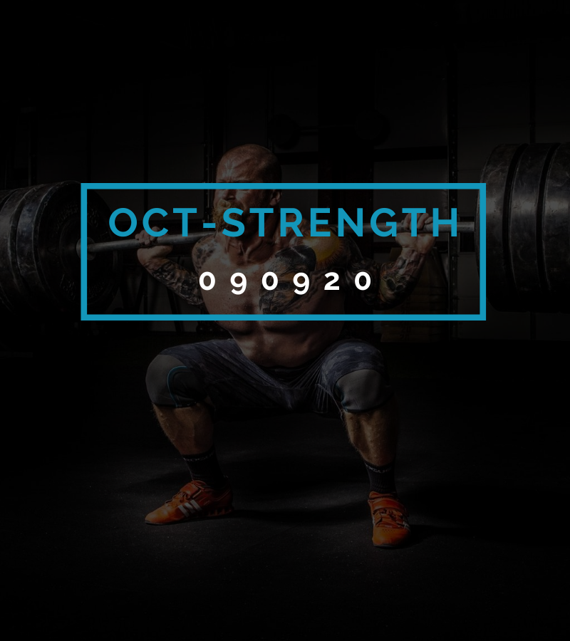 Octofit Kraft Programming OCT-STRENGTH 090920
