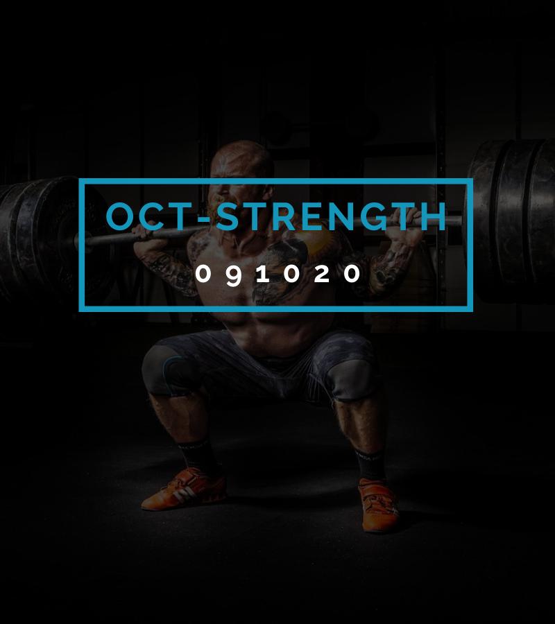 Octofit Kraft Programming OCT-STRENGTH 091020