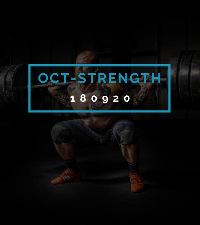 Octofit Kraft Programming OCT-STRENGTH 180920