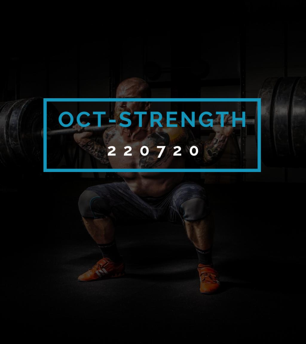 Octofit Kraft Programming OCT-STRENGTH 220720