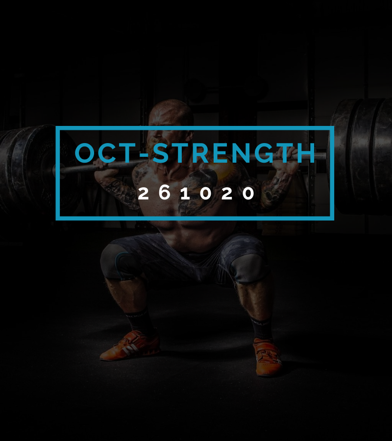 Octofit Kraft Programming OCT-STRENGTH 261020