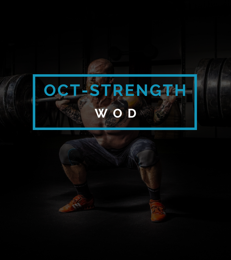 Octofit Krafttraining Programming Kraft Programm Kraft Workout WOD