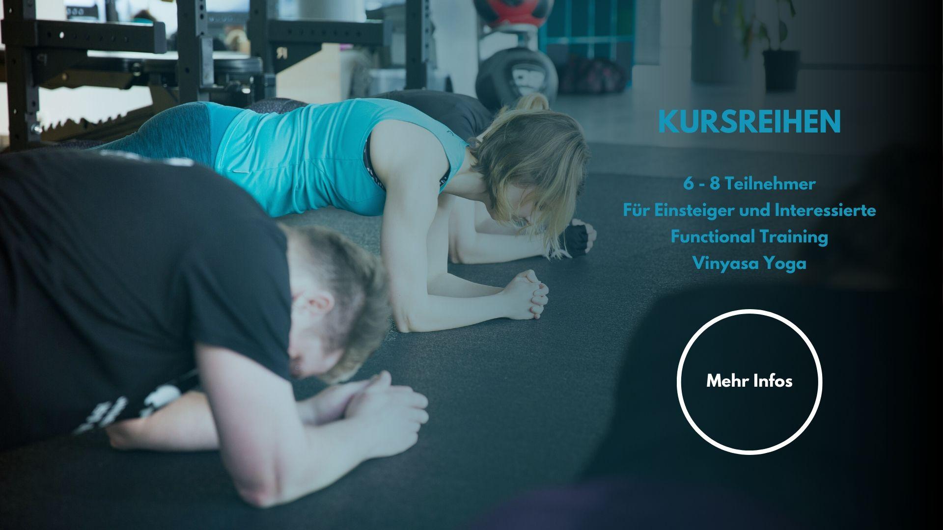 Octofit Luenen Kursreihe Functional Training Kursreihe Vinyasa Yoga