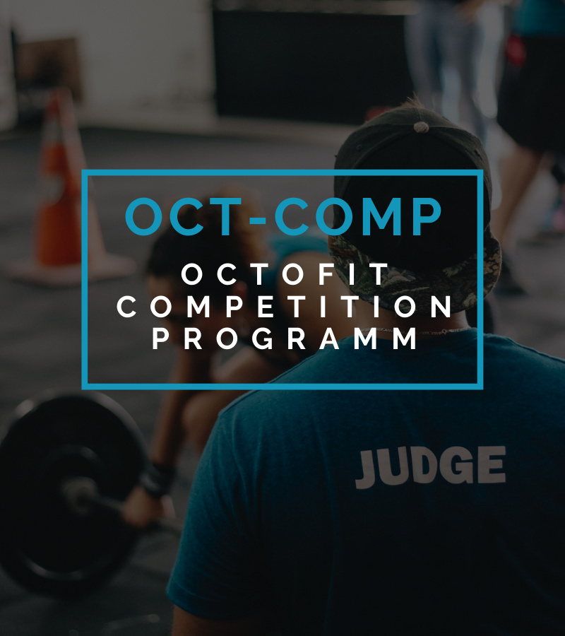 Octofit Online Fitness Training Competition Programm
