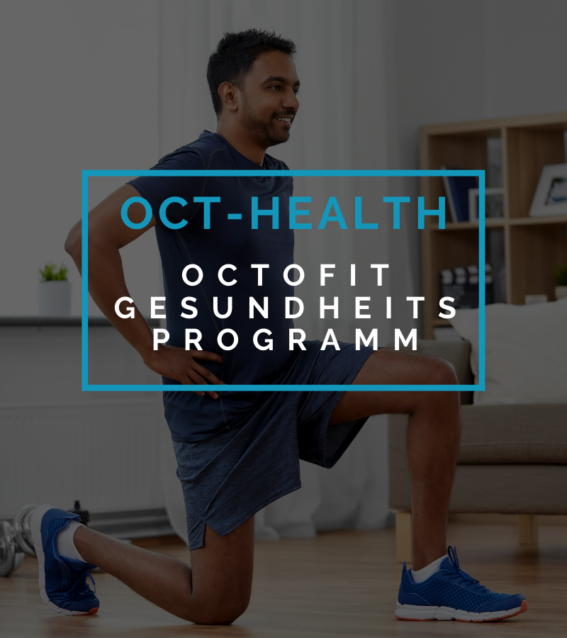 Octofit Online Fitness Training Gesundheits-Programm