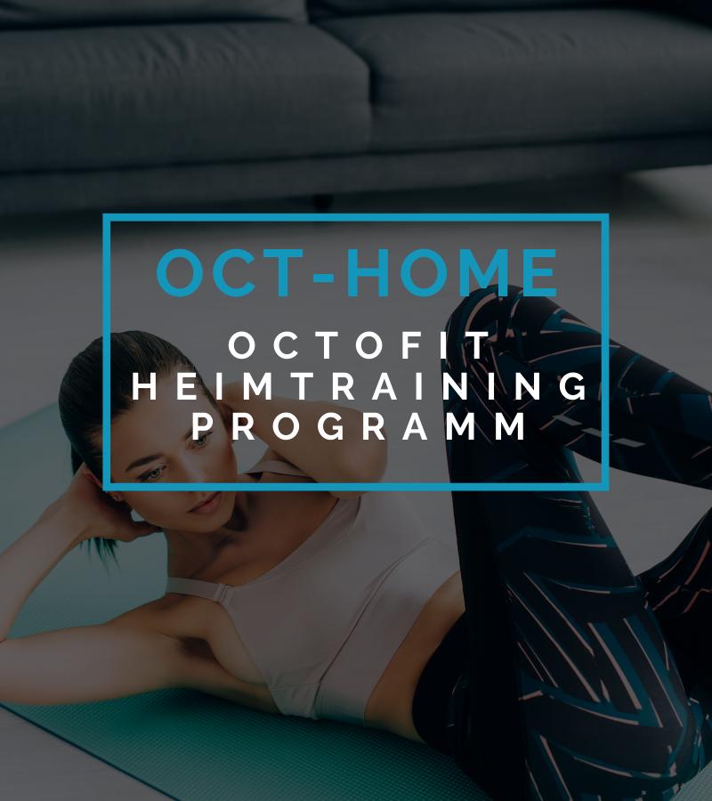 Octofit Online Fitness Training Heimtraining Programm