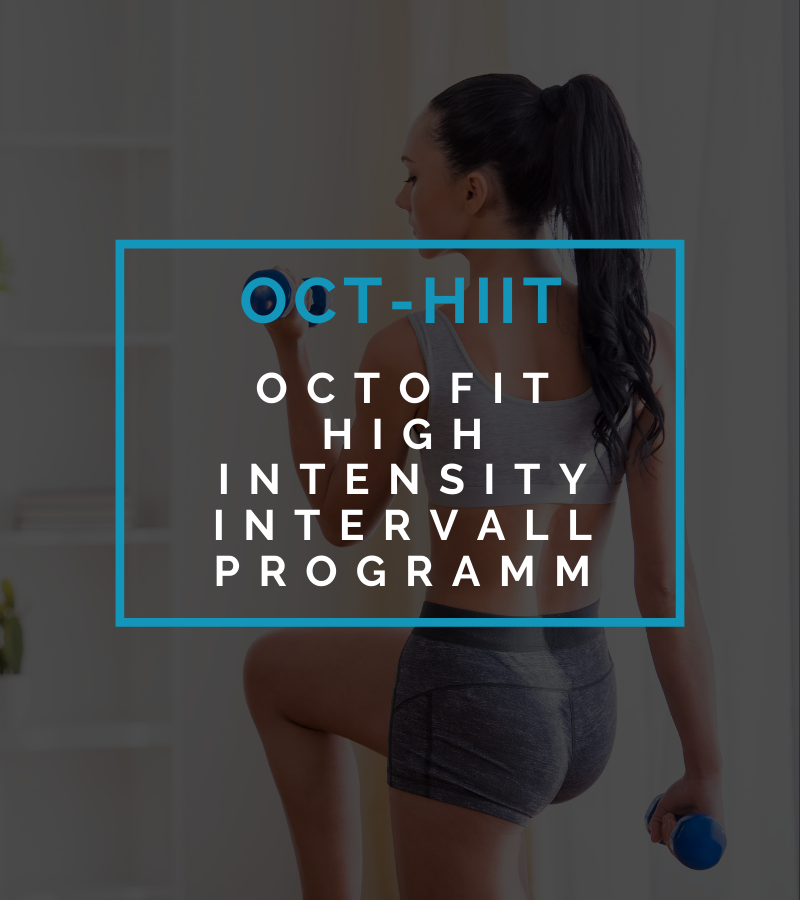 Octofit Online Fitness Training High Intensity Intervall Programm