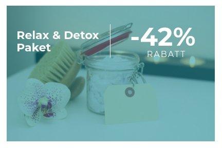Octofit Shop Sale Relax and Detox Paket