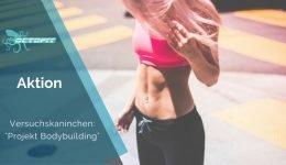 Versuchskaninchen Aktion Projekt Bodybuilding - Octofit
