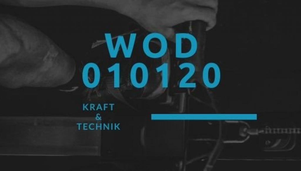 WOD 010120 Octofit