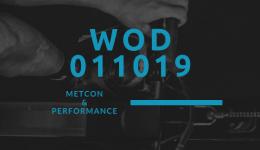 WOD 011019 Octofit