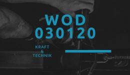 WOD 030120 Octofit