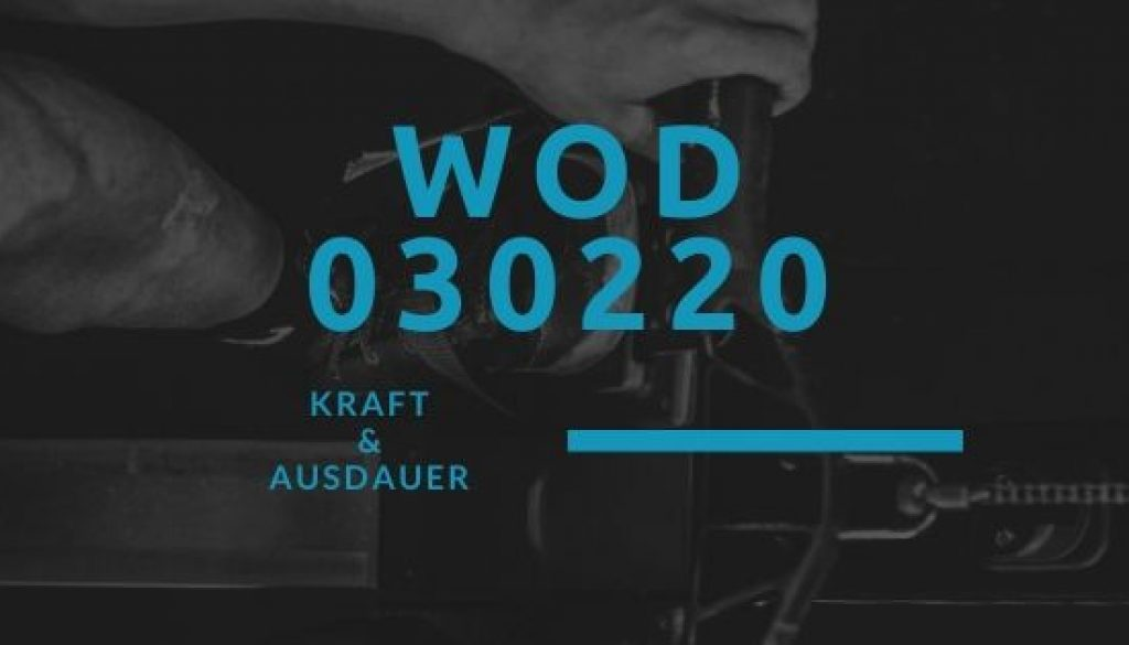 WOD 030220 Octofit
