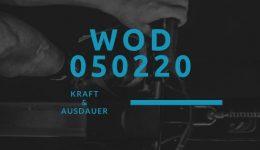WOD 050220 Octofit