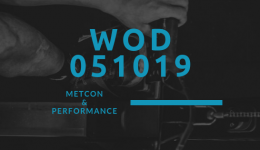 WOD 051019 Octofit