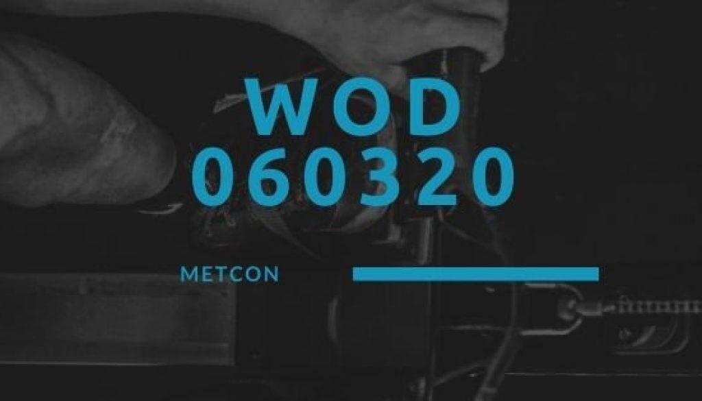 WOD 060320 Octofit