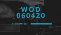 WOD 060420 Octofit