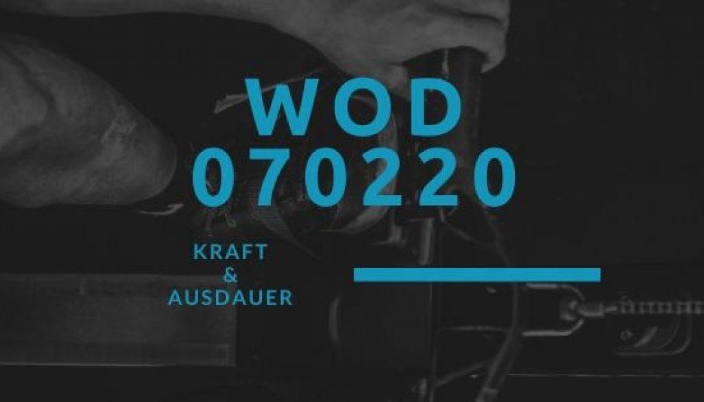 WOD 070220 Octofit