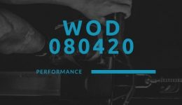 WOD 080420 Octofit