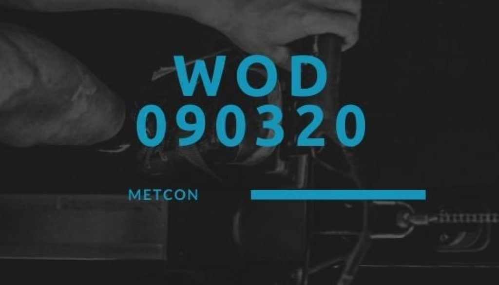 WOD 090320 Octofit