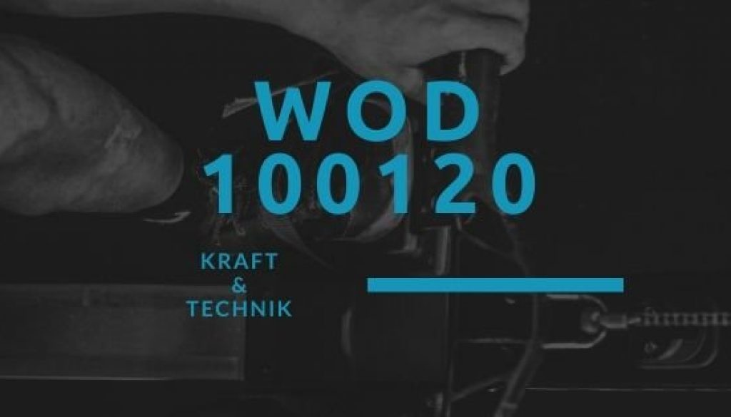 WOD 100120 Octofit