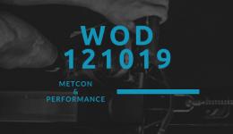 WOD 121019 Octofit