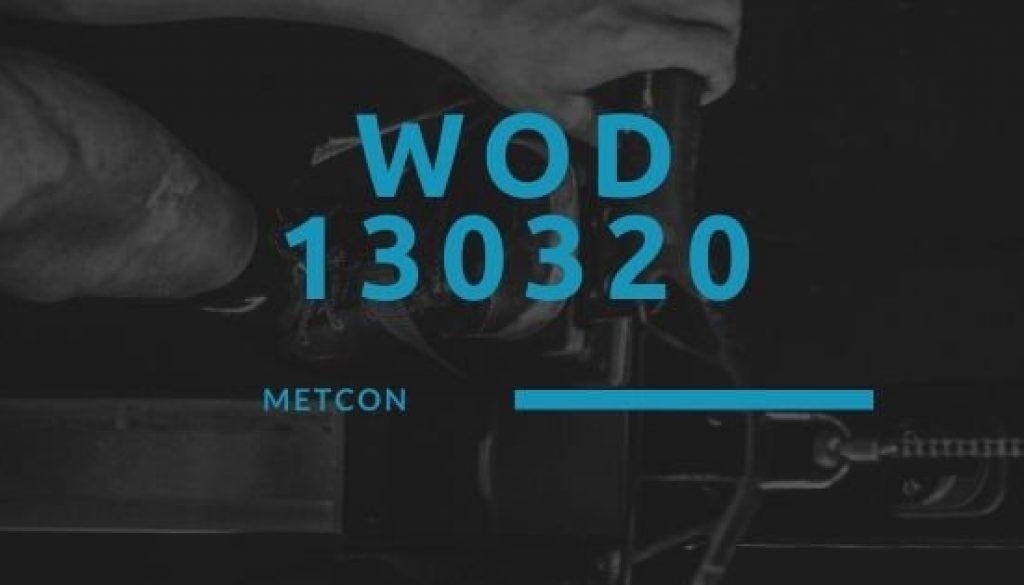 WOD 130320 Octofit